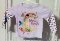 Disney Tinkerbell Girls clothes Outfits Fairies Shirts Pants 2 pc 12-24 mos SALE