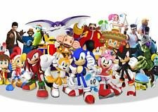 SONIC Heroes Poster A3