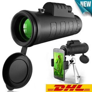 UK Monocular Starscope  40X60 High performance HD monoocular with phone Halfterx