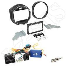 Kenwood Lenkradfernbedienungsadapter + Radioblende für BMW Mini (F55/56) ab 2014