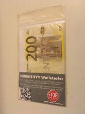 RFID NFC -Blocker im 200€ Design Kredit Karten Ausweis slim HIDENTITY (r)