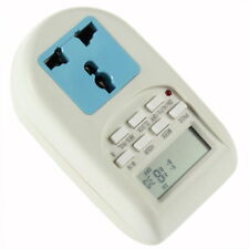 Digital Energy Saving Timer Programmable Electronic Timer Plug EU display RA