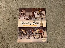 1971 Stanley Cup Quarter Finals Hockey Program Boston Bruins Montreal Canadiens