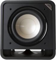 "Polk Audio HTS 10 10"" 200W Amplified Home Subwoofer - Washed Black Walnut"