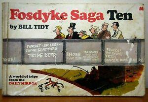 Fosdyke Saga: No. 10 by Bill Tidy (Paperback, 1981) Rare Copy of this Series