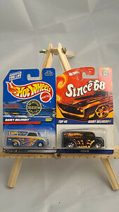HOT WHEELS 1999 TRAILER EDITION DAIRY DELIVERY COLLECTOR #23814 & Since '68 #22