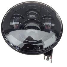 "Street glide Harley Davidson 7"" Black Led projector Headlight Roadking"