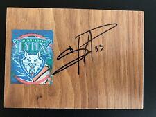 SEIMONE AUGUSTUS Signed WNBA Floor Tile MINNESOTA LYNX Basketball FREE SHIPPING