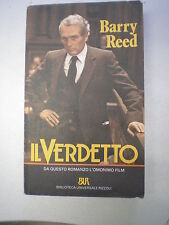 IL VERDETTO, Barry Reed, BUR Rizzoli n. 677, 1987