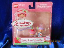 Strawberry Shortcake Berry Sweet Wearables Angel Cake w/cute Keychain 2005