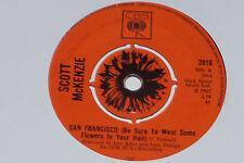 "Scott McKENZIE-San Francisco (Be Sure to Wear some...) - 7"" 45 CBS Records"