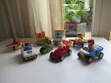 ♥♥ Lot De Playmobil 123 Deux Avions, Voiture De Police, Moto, Quad, Camion