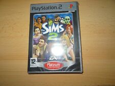 The Sims 2 PS2 new sealed platinum pal version