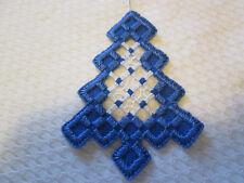 Hardanger Tree Ornament  Norwegian Embroidery Cut Work