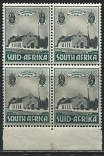 South Africa 1936 1/2d and 1/2d Semi-postal block of 4 mint o.g.