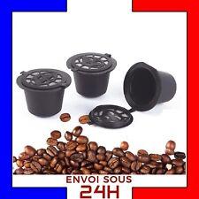 3 Dosettes Nespresso Capsules à Café Réutilisable / Rechargeable cafe espresso