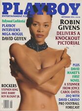PLAYBOY SEPTEMBER 1994-A - KELLY GALLAGHER - ROBIN GIVENS NUDE  !!!