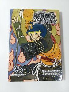 Naruto Shippuden Uncut DVD Set 35 w/ Sleeve