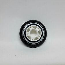 HYPER Inliner Rollen XTR für Fitness Skates 85A 80 mm schwarz/weiß für K2 RB