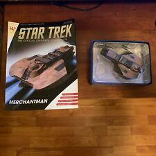 """Star Trek Official Starships Magazine #143 """"Merchantman"""" Eaglemoss"""