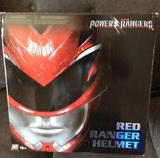 Ban Dai Saban'S Power Rangers Red Ranger Helmet Mib One Size Fits All. Ship Fast
