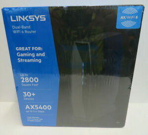 Linksys Dual-Band WiFi 6 Router AX5400 - NEW SEALED