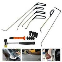 Paintless Dent Repair Car Dent Rods Hook Tools Ring Removal Hand Tools C Kits