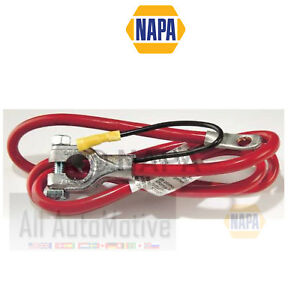 """Battery Cable NAPA Positive Top Mount Red 50"""" Long 4 Gauge w/ 6"""" Lead"""