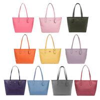 New Women's Coach F58846 City Zip Tote Handbag Crossgain Leather Shoulder Bag