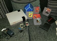 Nintendo NES Console Bundle + 5 Games RARE Sword Master Boxed + Super Mario 3