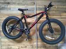 """New KHS 300SF Fat Tire Bike Four Season 24 Speed Bicycle Black/Red 17"""""""
