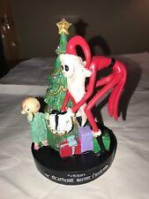 New Nightmare Before Christmas Santa Jack w Child Presents Tree Figurine
