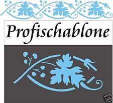 Wandschablone, Dekorschablone, Stupfschablone, Malerschablone, Dekor - Weinranke