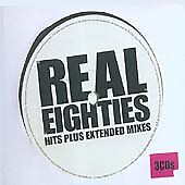 Various Artists - Real Eighties (Hits Plus Extended Mixes, 2005) (3 CD Set) VG+