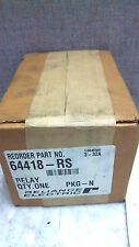 RELIANCE ELECTRIC RELAY 64418-RS NEW FACTORY SEALED 64418RS