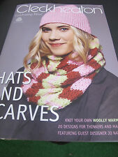 CLECKHEATON HATS AND SCARVES PATTERN BOOKLET 976,NEW
