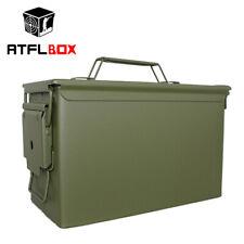 Army Green Military shooting Outdoor Metal Steel Waterproof Ammo Can Storage