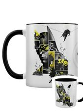 Batman Mug (80th Anniversary) Black Coloured Inner White