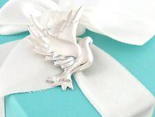 Neu Tiffany & Co.Silber Picasso Taube Brosche