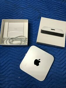 Apple Mac Mini Server i7 Quad Core 2.0GHz 8GB RAM 2 x 500GB HDD MC936LL/A A1347