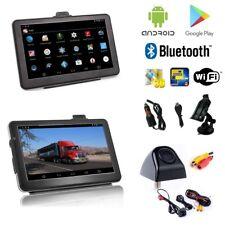 Android 7 Zoll Navigationsgerät,LKW,Wohmo,Android,Rückfahrkamera,Bluetooth, Wifi