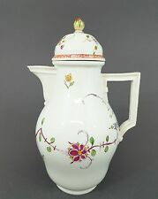 (MK064) Meissen Klassizistische Kaffeekanne Fels und Vogel Marcolini 1774-1814