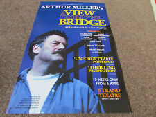 A VIEW FROM THE BRIDGE by Arthur Miller STRAND Theatre Poster