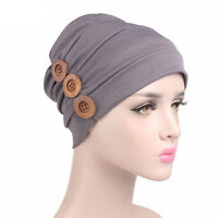 Women Bonnet India Cancer Chemo Hair Loss Cap Beanie Bandana Headwear Hijab Hat
