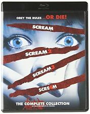 The Complete Scream Collection (Blu-ray Disc, 2011, Canadian) *new,sealed*
