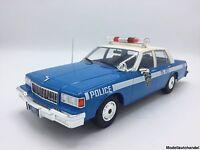 Chevrolet Caprice 1985 Police  - 1:18 MCG