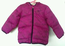 Bnwt Nike girls winter hoodie jacket, purple colour, size 2-3