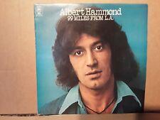 ALBERT HAMMOND 99 MILES FROM LA. - SINGER SONGWRITER - VINYL LP - PLAY TESTED