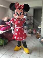 Minnie Mouse red magic Adult Mascot Costume Party Clothing Fancy Dress A