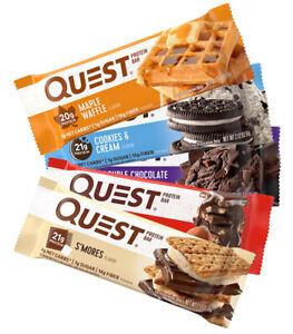 Quest Nutrition - Quest Protein Bar / Eiweiß Riegel - 12x 60 g / 720 g / NEU OVP